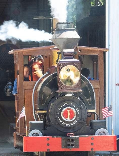 The Nevada County Narrow Gauge Railroad Museum celebrated its 75th anniversary Saturday, June 22, 2019.