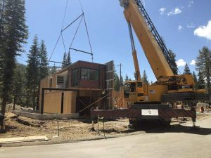 Made to order: California company Plant Prefab installs duplex at Olympic Valley development in single afternoon