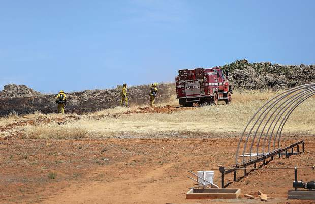 The Scott Fire, which burned 81 acres near Smartsville, started near a construction site off of the UC Field Station property on Scott Forbes Road. The cause of the fire is under investigation.