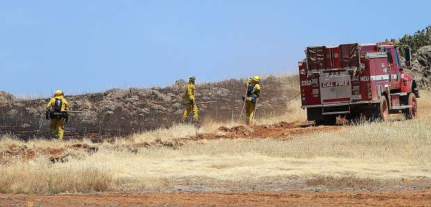 Scott Fire burns 81 acres near Smartsviille (VIDEO)