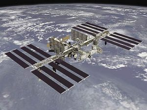 Alan Stahler: Overhead tonight will be a glimpse of the Space Station
