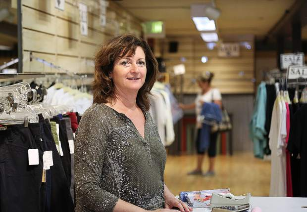 Swarthout has owned her downtown Grass Valley business, Mill Street Clothing Co. since the late 80s and has been at her current location on Mill Street since 1999.