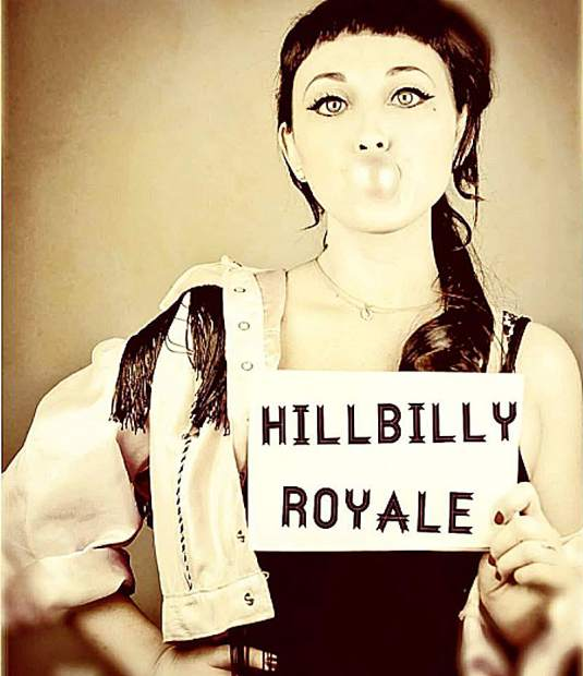 Hillbilly Royale -- Hillbilly Swing, Jump Blues & Rockabilly. Created for people who love song writing, dance music and great association. Show is set for Friday night at 7.