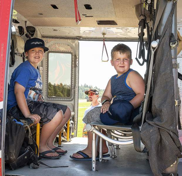 There were activities for people of all ages at the Grass Valley Airshow on Saturday at the Nevada County Airport.
