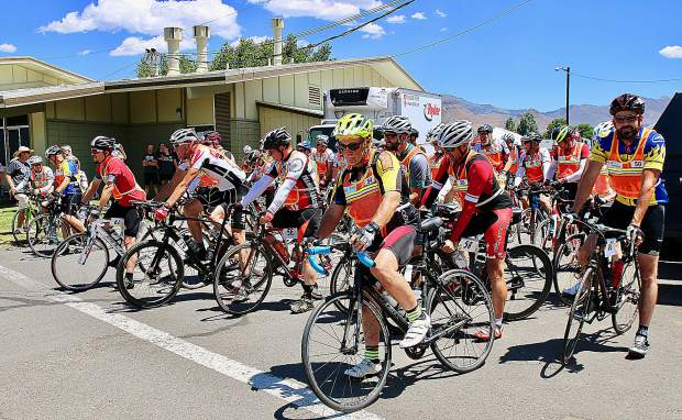 Cyclists who participated in last year's Agony Ride combined for 17,062 miles ridden and raised more than $220,000. If the event hits its goal of $230,000 this year, it will be the fourth consecutive record-breaking year for the fundraiser.