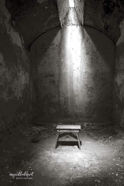 Solitary is a winning photo taken while visiting a historic penitentiary in Pennsylvania.