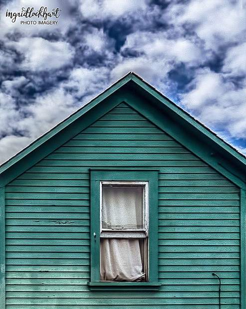 """This photo entitled """"The Window"""" is another example of Ingrid's minimalist style."""
