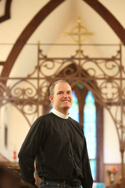 Fr. Seth Kellerman new that he wanted to be an Episcopalian minister. He is one of a recent crop of native Nevada County returnees.