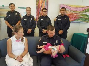 Experiencing the spectrum of emotion: Infant saved after father guided through CPR by Cal Fire officer, months of hospital care