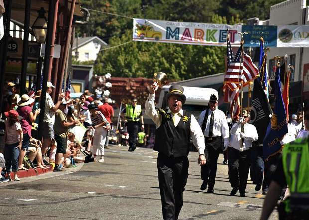 The Fourth of July parade in downtown Grass Valley.