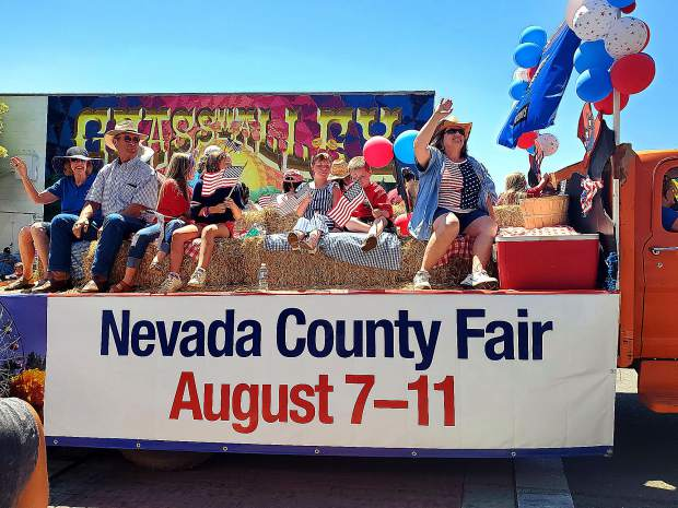 Looking forward to the Nevada County Fair.