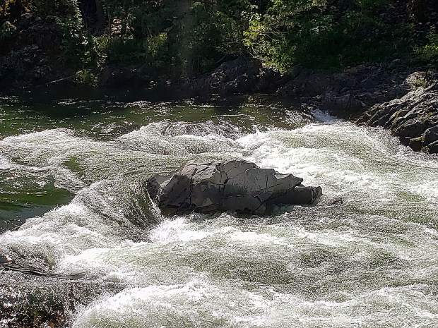 The Yuba River is still flowing fast!