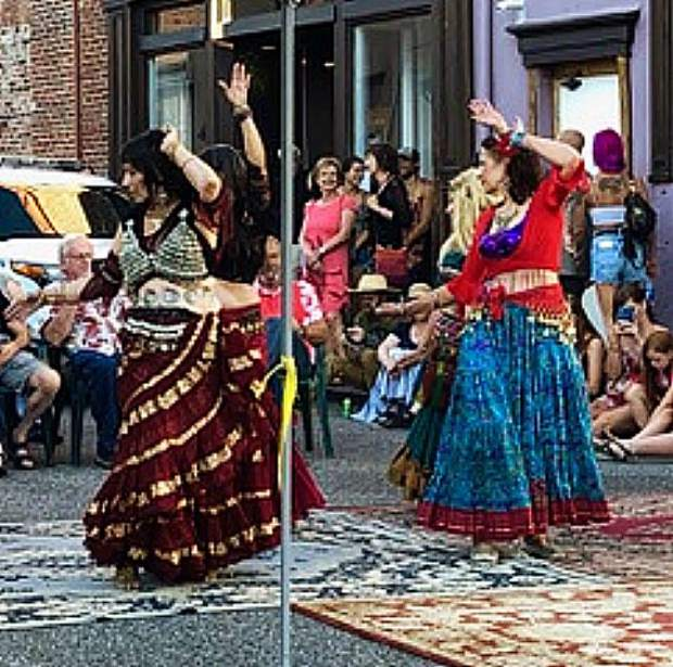 Belly Dancers on July 17 in Nevada City.