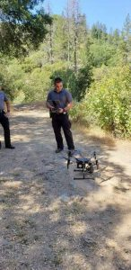 Grass Valley police drone helps in search for man at South Yuba River