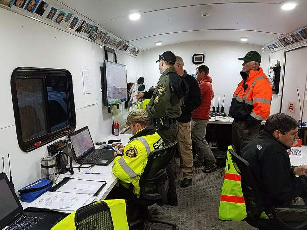 The Nevada County Sheriff's Office Search and Rescue unit has invested in advanced  technology, including a computerized mapping program and radio logging to monitor search teams in the field.