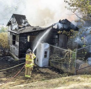 No one hurt in Grass Valley house fire