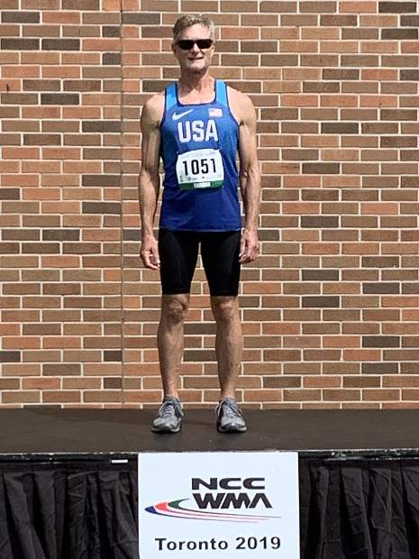 Bob Thurman won gold in the long jump at the North, Central America and Caribbean Region of World Masters Championships held in Toronto.