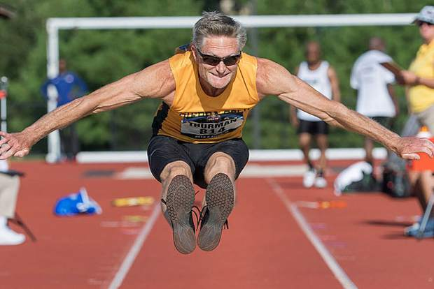 Sierra Gold athlete Bob Thurman competed at the USATF Outdoor National Championships and the North, Central America and Caribbean Region of World Masters Championships, earning medals at both events.
