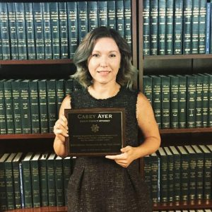 Casey Ayer honored as Nevada County's 'Outstanding Prosecutor of the Year'