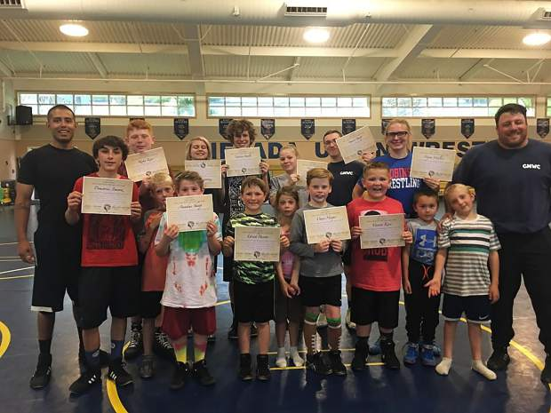 Eighteen youth wrestlers from Goldmine Wrestling Club recently completed a 10-week training course designed to prepare them for upcoming JROB  Wrestling Camps.