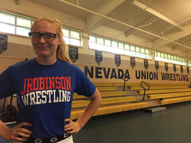 Myra Walker recently completed a 10-week training course designed to prepare her for the 14-day JROB Intensive Wrestling Camp in Oregon July 28-Aug. 10.