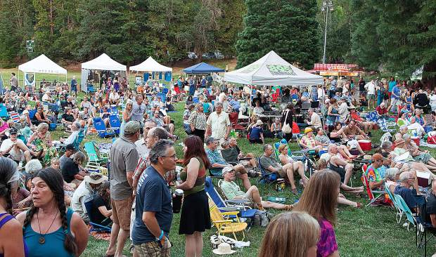 Pioneer Park will be the site of Saturday's Woodstock Reimagined, hosted by KVMR.