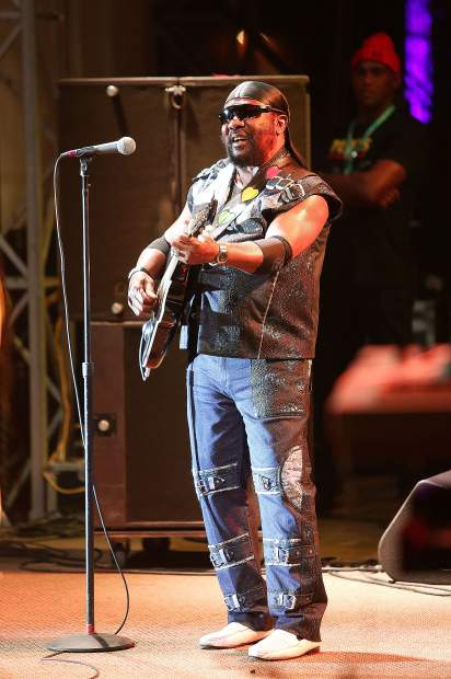 """Singer and songwriter """"Toots"""" Hibbert formed the group The Maytals in 1962, and later changed the name to Toots and the Maytals in 1972."""