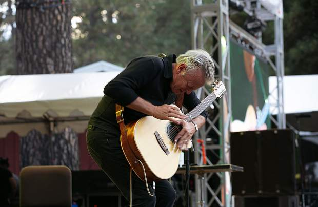 Tommy Emmanuel at the 2017 WorldFest.