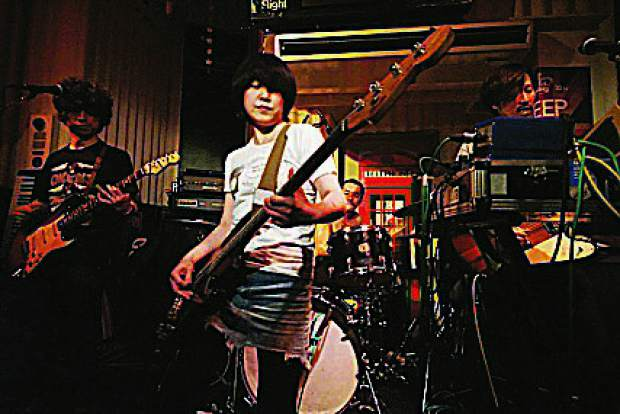 The Dead Pan Speakers, a rock band from Tokyo, Japan, will perform at WorldFest on the Discovery Stage.
