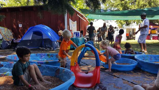 There's many activities for children at High Sierra Music Festival. They even have an entire Family Village dedicated to them.