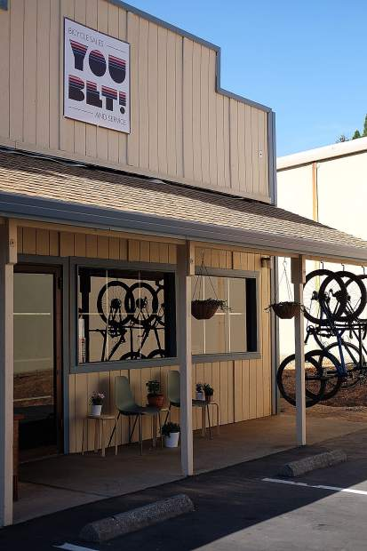 You Bet! Bicycle Sales & Service sits on Searls Avenue in Nevada City.