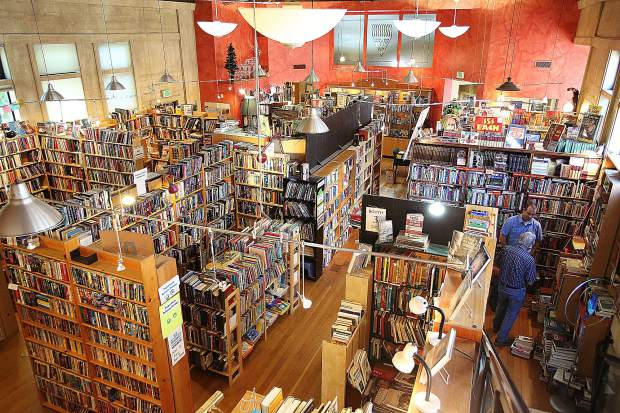 Booktown Books in downtown Grass Valley features collections of books from 9 different collectors.