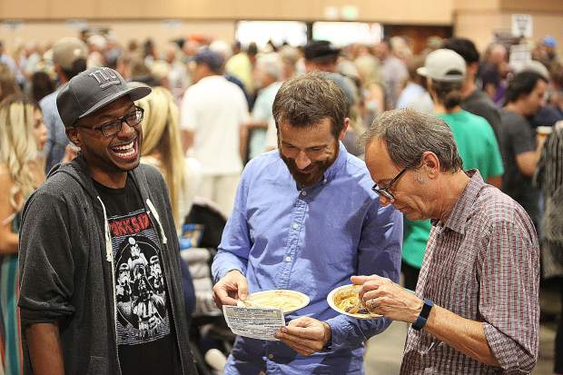 Folks enjoy their time during the 7th annual Bounty of the County hosted by Nevada County Grown.