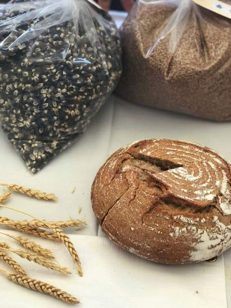 The primary focus of Early Bird Farm is milling fresh, heirloom and heritage grains into delicious whole grain flours.