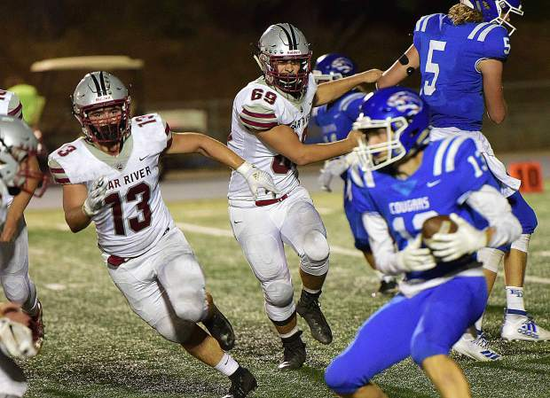 Bear River improved to 2-0 with a 27-11 victory over El Dorado Friday night.