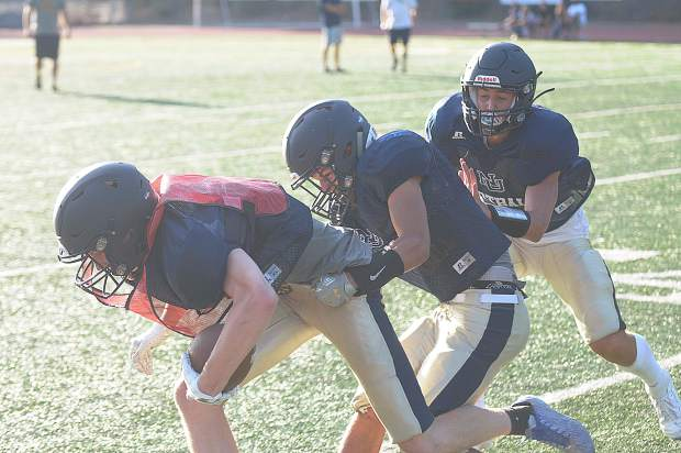 Nevada Union football hosted its annual