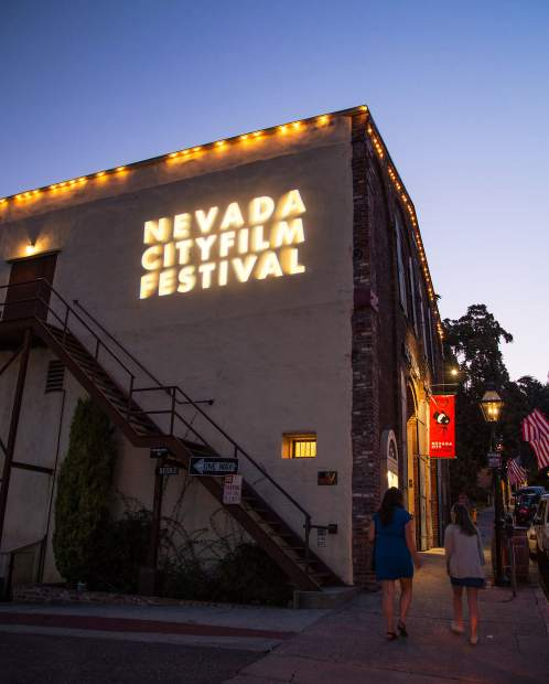 The Nevada Theatre hosts many of the screenings of the Nevada City Film Festival.