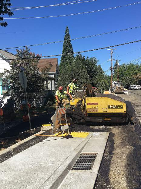Grass Valley roadwork is expected to reach completion this month. The city's annual street rehabilitation project looks to preserve about 4 1/2 miles of paved streets and intersections throughout the city. More work is expected later this week and next.