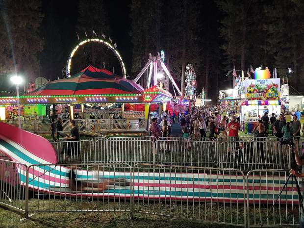 The inaugural Nevada County Fair was a three-day event in October 1938, and the first Nevada County Fair held at the state's 'Most Beautiful Fairgrounds' on McCourtney Road was in 1947.