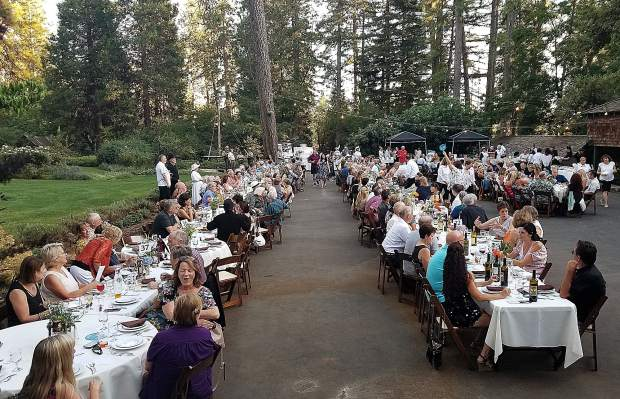 More than 200 guests at the Third Annual Mine, Wine, and Dine fundraiser mingled, ate, and danced in the exact spot the influential Bourn family entertained at the Empire Mine during the late 1800s.