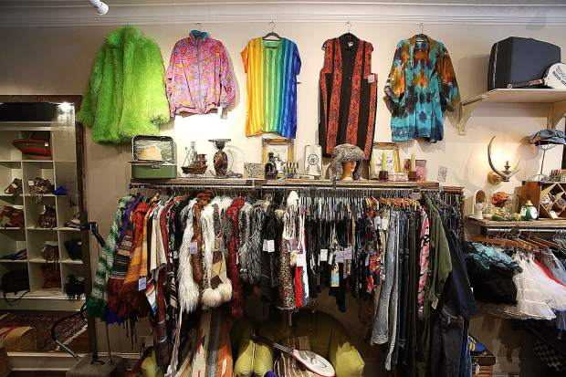 A wide selection of burner apparel is currently for sale at Sunchilds Parlour targeted at those headed to the playa for Burning Man.