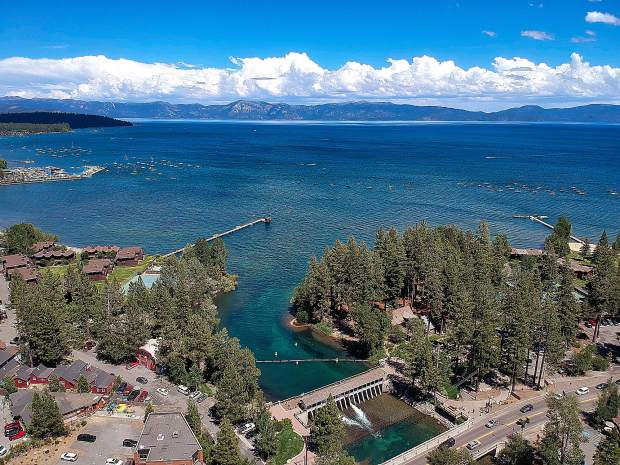 Tahoe City on Tuesday.