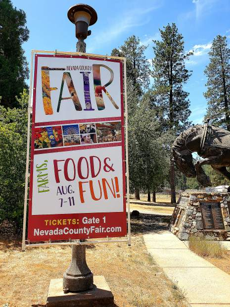 Get ready for the fair at the Nevada County Fairgrounds!