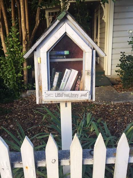 "Nevada City's ""Other Library."""