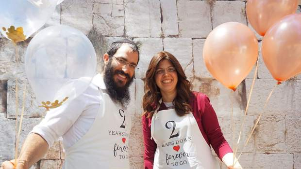 Chabad of Grass Valley directors, Rabbi Nochum and Chyena Yusewitz, celebrate two years of community service this summer.