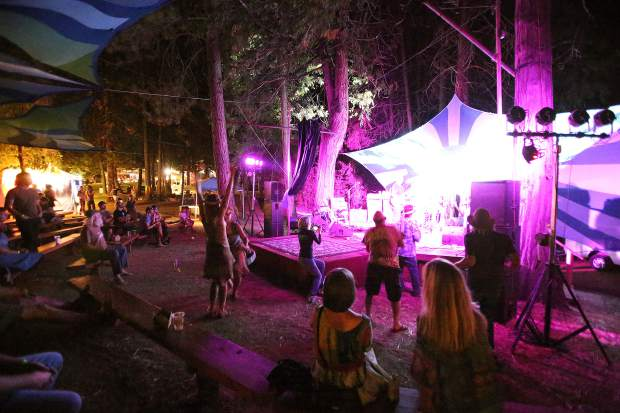 The Mermen closed out Friday night's Ridgestock events.