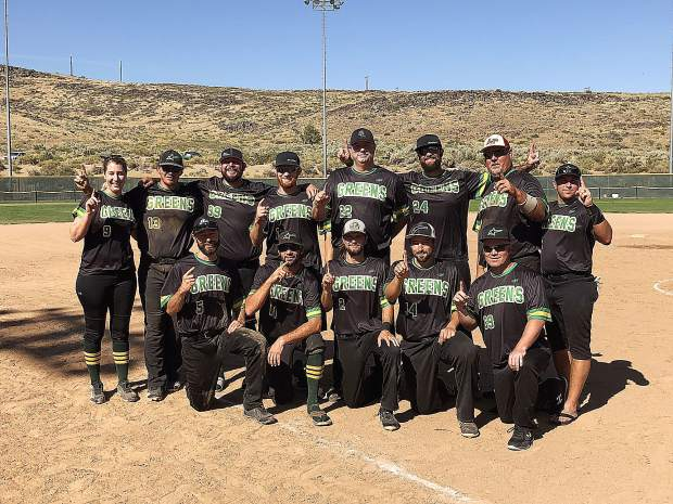 The Grass Valley Greens won the CalNeva Fastpitch Softball Tournament in Carson City over the weekend.