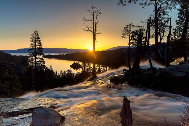 Whether at sunrise, sunset or the middle of the day, the views of Emerald Bay -- and nearby Eagle Falls -- are beyond spectacular.