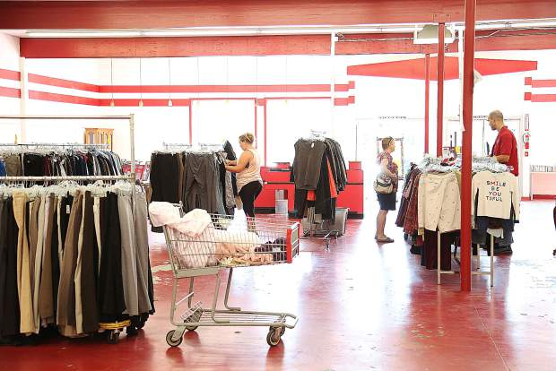 Today will be the last day of sales at the downtown Grass Valley Salvation Army Thrift Store.