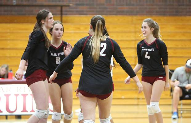 The Bear River varsity girls volleyball team beat Casa Roble on Thursday, improving to 5-0 on the season.